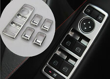 Matte Chrome Master Window Switch Panel Trims Benz W117 W212 X204 C E ML Class