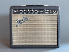 Fender Vibro Champ Amp 1966 Vintage Amplifier Blackface Nice Worldwide Ship