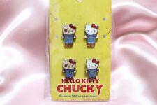 RARE USJ Limited Hello Kitty x Chucky Pierce SET FREE S/H