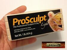 M00149 MOREZMORE Prosculpt 1 lb LIGHT FAIRY FLESH Doll Sculp Polymer Clay T20