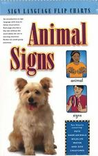 Animal Signs (Flip Chart) (Sign Language Flip Charts), Collins, Stan, Very Good