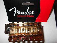NEW GOLD FENDER STRATOCASTER TREMOLO BRIDGE WITH HEAVY BLOCK MARY KAY STRAT