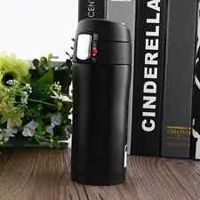 350ML Travel Mug Tea Water Bottle Stainless Steel Vacuum Flask Thermos Cup Black