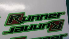 Gilera Runner side panel Stickers FX, FXR, SP, VX, VXR, pogialli malossi GREEN