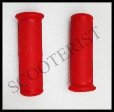 Vespa Handle Rubber Grips Set Red Vba Vbb Super Sprint 150 125  GS SS PX LML