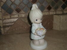 PRECIOUS MOMENTS- FIGURINE-THE FRUIT OF THE SPIRIT IS LOVE-GOOD COND.