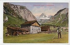 JORGENHUTTE GEGEN GROSSGLOCKNER: Leipzig printer's sample postcard (C24167)