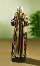 BEAUTIFUL SAINT ST PADRE PIO CATHOLIC STATUE - NIB
