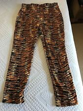 Deadly Dames XL Tiger cigarette pants Pin Up Girl Clothing