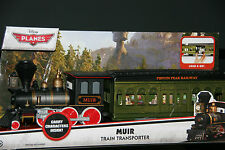"""DISNEY PIXAR CARS """"MUIR THE TRAIN TRANSPORTER - PLANES FIRE & RESCUE"""" IN PACKAGE"""