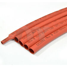 5 Feet (1.5m) Red 6.0 mm Heat Shrink Tubing Tube Sleeve Wrap RoHS