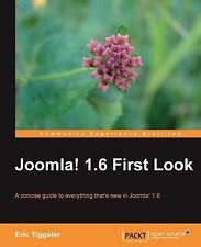 Joomla! 1.6 First Look, Tiggeler, Eric, New Books