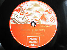 78rpm GEORGES DE LAUSNAY (Piano) plays CHOPIN+GRANADOS - PATHE ART LABEL
