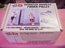 All Pro 2-LB Weighted Handles Power Pulley # 445 Home / Clinic Over Door Pulley