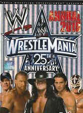WWE WRESTLEMANIA 25TH ANNIVERSARY ANNUAL 2010 BOOK KIDS