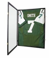 PRO  Graded UV Protection Football Baseball Jersey Display Case Frame -JC04C