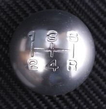 CHROME 5 speed round gear shift knob MAZDA 121 323 323F MX3 MX5 MIATA BONGO