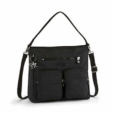 Kipling TASMO Medium Shoulder/Across Body Bag DAZZ BLACK FALL 2016  RRP £84
