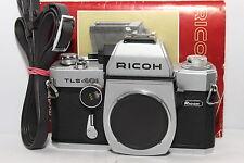 RICOH TLS 401 Silver REFLEX Body a Vite M42 Doppio Mirino Manuale *REVISIONATA*|