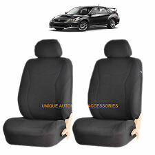 BLACK SPEED AIRBAG COMPATIBLE LOWBACK SEAT COVER SET for SUBARU IMPREZA LEGACY