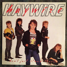 Haywire Don't Just Stand There Ex.Cond LP Roadrunner 1987