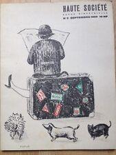 Rare Lithographie de Topor 1960 Genet Picasso Burroughs Folon Siné Bosc Trez