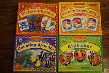 Lot of 4 Carson-Dellosa Publishing Learning Еducational Kids School Games