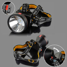 30000 Lumens Headband LED Light Rechargeable Headlight Headlamp Head Camping UK