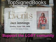 SIGNED Being Jazz My Life As a (Transgender) Teen by Jazz Jennings, new