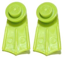 MINI LEGO SWIM FINS STUD EARRINGS (L032)