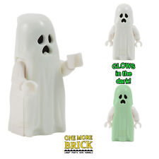 LEGO Ghost - Glow in the dark - Monster Halloween haunted ghost minifigure NEW