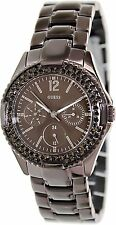 Guess Women's Multi-Function Crytsal Accent Stainless Steel Watch - U13631L1