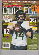 SPORTING NEWS MAGAZINE COLLEGE FOOTBALL 2014, TOP 10, 262 DIVISION I PREVIEWS.