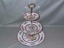 Paragon Tree of Kashmir Bone China 3-Tier Hostess Cake Plate Stand (V2)