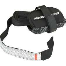 3920-0362 Moose Motorcycle Buddy Tow Trail Strap Emergency Tow Strap Black