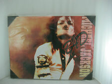 NEW LARGE MICHAEL JACKSON BAD CANVAS PICTURE 80 X60 CM READY TO HANG