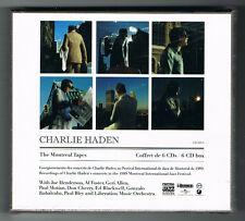 CHARLIE HADEN - THE MONTREAL TAPES - 6 CD BOX - NEUF NEW NEU