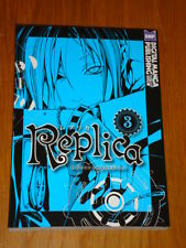 REPLICA VOL 3 DIGITAL MANGA PUBLISHING KARAKARA KEMURI GRAPHIC NOVEL