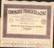 Compagnie Française du ZINC (K)