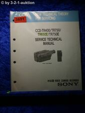 Sony Technical Manual CCD tr400/tr750/tr650e/tr750e (#3691)