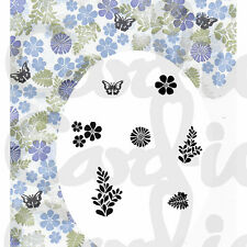 New Card-io Majestix Clear Stamps Peg Stamps Dainty Daisy