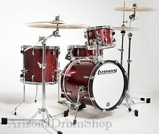 Ludwig Questlove Breakbeats 4pc Wine Red Sparkle Drum Kit w/Bags(LC179X-025) NEW