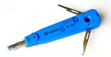KRONE LSA-PlusTelecom Phone Punch Down Tool Blue