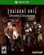 Resident Evil Origins Collection - Microsoft Xbox One Game - Complete