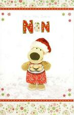 Boofle Special Nan Christmas Greeting Card Embellished Special Xmas Cards