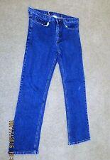 Mens Gap Worker Basic Jeans 32 x 30 100% Cotton, EUC