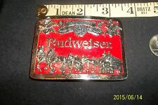 Vintage Budweiser Clydesdales Belt Buckle beer collectible eagle