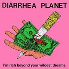 Diarrhea Planet I'm Rich Beyond Your Wildest Dreams COLOR Cassette Tape oop NEW+