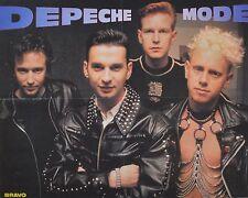 DEPECHE MODE - A2 Poster (XL - 42 x 55 cm) - Dave Gahan Clippings Fan Sammlung