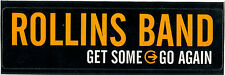 Rollins Band Get Some Go Again RARE promo sticker '00